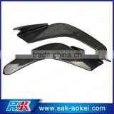 Universal Car Body Kit Carbon Fiber Front Lip Splitters Bumper