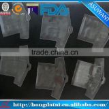 Double ziplock packing bag/Transparent resealable packaging bag/Special shape packing bag
