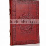 Handmade Brown Leather Journal Personal Diary Blank Notebook writing journals