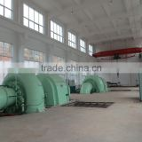low head Hydro Power water turbine generating unit /5000kw Francuis turbine for Hydropower plant