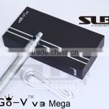 Newest e cig ego series battery variable wottage ego v v3 variable voltage 1300mAh Lcd ego battery