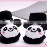 latest design best selling cute baby shoe socks with small MOQ
