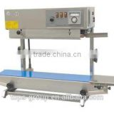 Vertical and horizontal continuous band sealer machine
