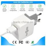 Standard certifiction battery charger fixed EU plug cell phone charger for iphone                                                                                                         Supplier's Choice