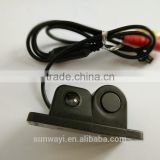 New and simple installment blind spot assist system 2-in-1 car parking sensors with camera hd