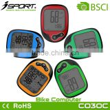 Biggest LCD Display Heart Rate Bicycle Computer with Thermometer
