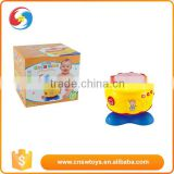 Plastic musical instrument drum baby toys B/O jazz drum