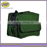 Green Oxford Customized Logo Courier Bag with multifunctional pocket mailing bags TSB002