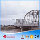 Frame Multi Trusses Prefab Bailey Portable Steel Structure Bridge, Metal Construction Bridge with Drawing