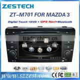 2015 hot CAR ELECTRONIC car dvd gps navigation system for MAZDA 3 2004-2009 with factory