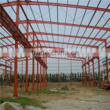 large span steel space frame structure warehouse low cost factory workshop steel building