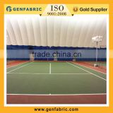 Big inflatable tent,membrane structure, tennis court menbrane structure,sports hall tent