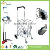 Lightweight aluminum supermarket foldable luggage trolley/folding hand trolley/Hand truck for sale