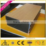 Aluminium profile door and window wood grain,aluminium wooden siding, aluminium wooden floor trim, aluminium wood finish profile
