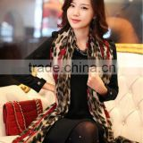 Women Girl Leopard Shawl Gauze Long Wrap Stole Chiffon Soft Scarf High Quality