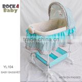 BABY BASSINETBABY SLEEP CRADLE WITH ROCKER
