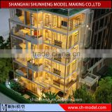 scale apartment garden planning model making / landscape , custom-made building scale model making