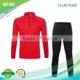 new 2016 custom soccer tracksuits for sports set top and pants