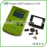 New Refurbish use console shell for GBC for Game Boy Color Console shell Teal Blue Turquiose New Body Glass Screen