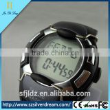 china supplier cheap factory price Chest strap Pedometer Heart Rate Watch with LCD Monitor Stopwatch