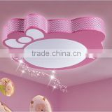 Hello kitty shape pink lamp shade for baby room