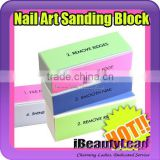 hot sale 4 sides nail sanding file nail buffer block for manicure and pedicure