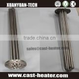 flanged immersion stainless steel heating element for water boiler