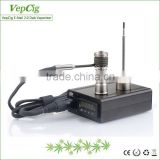 New 5 pin enail coil titanium nail heater VepCig e-nail 2.0 Dab Vaporizer with Improved Chip System For Stable Quality