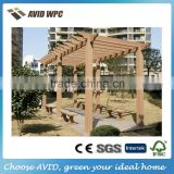 China supplier China manufacturer WPC pergola