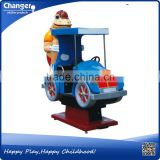 Coin Operated Fiberglass Toys music and video children funny kiddie rides