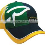 Special 6 Panel Custom 3D Embroidery National World Cup Style Fitted Baseball Cap and Hats