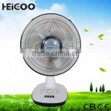 16 inch high quality high speed cheap price electric plastic table fan / desk fan with 3 speed