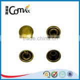 Metal Double Cap Brass Rivet For Clothing/Bags