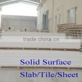 Pure Acrylic Solid Surface Sheet,acrylic marble sheet resists certain acid, alkali and organic solvent