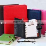 A5 ring binder leather organizer diary 2015