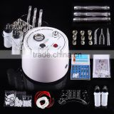 BD-108 Best price Top sell Professinal Microdermabrasion beauty salon machine with 9 diamond tip and 3 wands