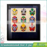 Framed Handmade Shadow Box Modern Peking Opera Decor