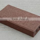 Yixing red fire clay brick/tiles for wholesale, refractory paving materials
