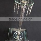 classic crystal flower stand for wedding tables