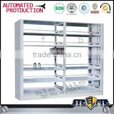 Luoyang steelite stainless steel bookcase/cheap price metal library bookshelves