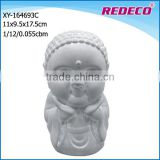 high quality resin small garden buddha statue for sale