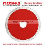 Continue wet cutting diamond saw blade for stone, granite saw blade, granite cutting blade