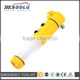 4 in 1 Multifunctional Emergency Auto Escape Tool With LED SOS Flashlight