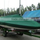 Wholesale waterproof polyester oxford boat ship cover fabric