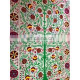 Buy Online Suzani Uzbek Embroidery bedcover tree of life tapestry Blanket Ethnic bed cover