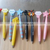 hanging magnet 3D pvc ball pens wholesale in china manufacture