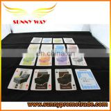 Funny design sofa printing playing card poker made in china