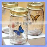 Wholesale Glass Jars for Flutter Butterfly Presents for Friends and Lover