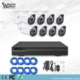 Wdm CCTV 8CH Security IP Cameras 2.0MP Resolution Poe NVR Alarm Systems