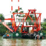 Cutter suction dredge machinery